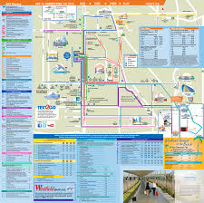 South Coast Plaza Map Anaheim Resort Transportation Ride