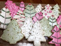 Recipe Decorated Cookies 298 Best Christmas Trees Decorated Cookies And Cake Pops Images On