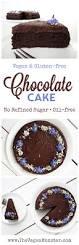 chocolate cake vegan gluten free oil free the vegan monster