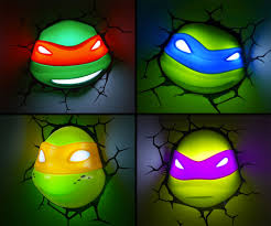 tmnt nightlights dudeiwantthat com