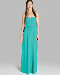 ted baker maxi dress alessa in green lyst