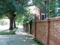 perfect short brick boundary wall outdoors pinterest bricks