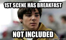 Walt Jr Breakfast Meme - umm daad can we have roof pizza walter jr quickmeme