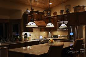 kitchen countertop storage ideas dark wood floors with honey oak