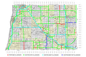 Detailed Map Of Michigan County Maps Allegan County Road Commission