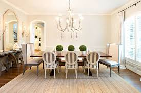 Striped Dining Room Chairs by Decorating Ideas Beautiful Neutral Dining Room Decor Ideas With