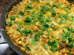 the well fed newlyweds chili mac with corn and green chiles