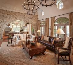 wall arch design living room mediterranean with ornate coffee