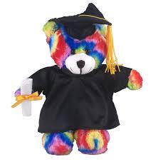 Personalized Graduation Teddy Bear Bear With Me Plush Tie Dye Bear 8