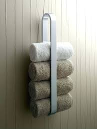 double towel shelf 17 best ideas about bathroom towel rails on