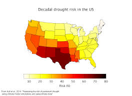 Usa Drought Map by Megadrought Ecrl Emergent Climate Risk Lab Earth