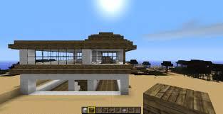 modern beach house minecraft project