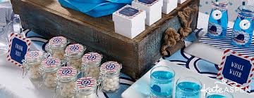 Birthday Favors by Nautical Birthday Décor And Favors By Kate Aspen