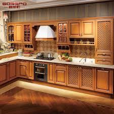 wooden kitchen cabinets designs china holistic kitchen furniture design solid teak wood