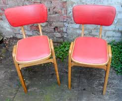 1950s Kitchen Furniture Vintage Kitchen Wood Chairs Video And Photos Madlonsbigbear Com