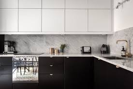 how to clean black gloss kitchen cupboards black white kitchen design pictures in 2021 white gloss