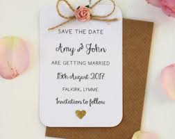 make your own save the dates twine save the date etsy
