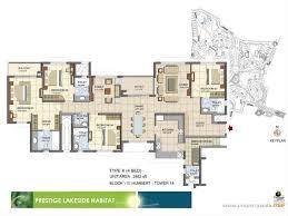 prestige lakeside habitat varthur bangalore residential