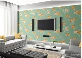 Wallpapers Home Decor Home Decor Living Room Light Blue Modern Fashion