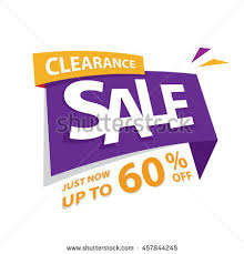 clearance sale purple yellow 60 percent stock vector 457844245