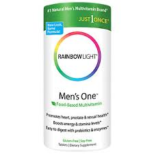 rainbow light vitamins mens mens one multi 150 tablets by rainbow light nutritional systems at