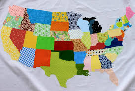 map quilt free tutorial the united scraps of america by