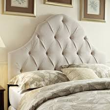 Bedroom Furniture Headboards by Bedroom Tall White Headboard With Tufted Ornaments Which Combined