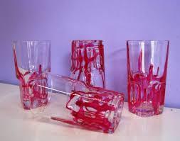 decorazioni bicchieri bicchieri per amaro decoro artigianale di giorgetti