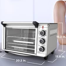 Can You Put Aluminum Foil In Toaster Oven 6 Slice Convection Countertop Oven Black Decker