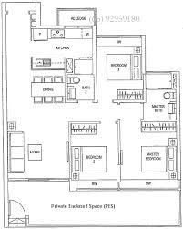 Waterfront Floor Plans Waterfront Gold Singapore Condominium Sale Condo Floor Plans