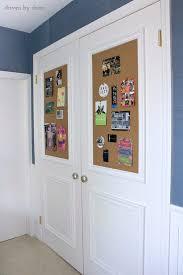 diy molding closet door diy makeover with molding and bulletin boards hometalk