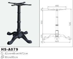 cast iron table bases for sale cast iron table base industrial cast iron dining table base style 1