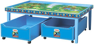 thomas the train wooden track table amazon com thomas friends wooden railway thomas playtable