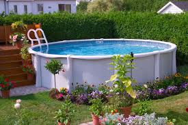 Pool Landscaping Ideas by 17 Ways To Add Style To An Above Ground Pool Hgtv U0027s Decorating