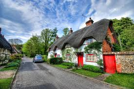 cottage house pictures hungarian cottage house red and white with black thatched roof in