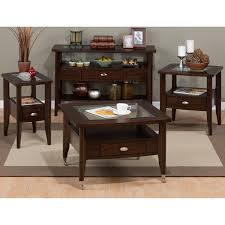 amazon com jofran montego sofa table montego merlot kitchen