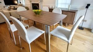solid walnut dining room table natural wood slab tables modern