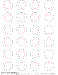 1 Inch Circle Template by Templates Umakebuttons