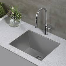 kitchen design super white granite countertop with kraus sinks
