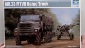 unboxing the 1 35 trumpeter mk 23 mtvr cargo truck youtube