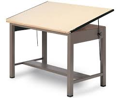 Tabletop Drafting Table Mayline Ranger Steel 4 Post Drafting Table Tiger Supplies