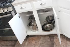 Organizing Pots And Pans In Kitchen Cabinets Kitchen Cabinet Organization How To Nest For Less