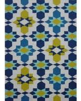 Polypropylene Outdoor Rugs Check Out These Summer Savings Geometric Brown Outdoor Rug 5 U0027 X