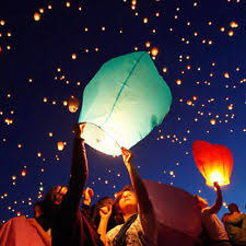 luck lanterns paper sky lanterns ebay