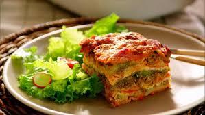 roasted vegetable and sausage lasagna recipe tiffani thiessen