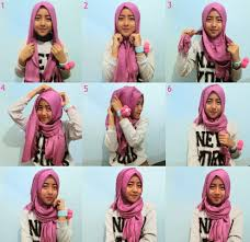 simple hijab styles tutorial segi empat hijab casual style hijab tutorial pictures