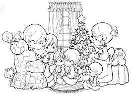 christmas u2013 free precious moments coloring pages precious