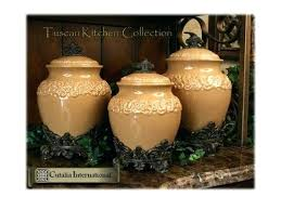 tuscan kitchen canisters sets tuscan kitchen canisters collection canisters p a decor