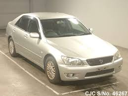 lexus altezza stock 2003 toyota altezza silver for sale stock no 46267 japanese