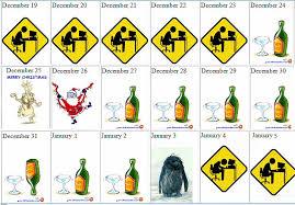 printable advent calendar sayings jokes about christmas happy holidays